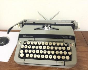 Smith Corona Galaxie Twelve Portable Typewriter
