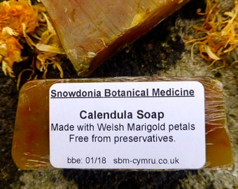 Welsh Marigold Calendula Soap