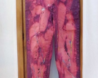 Waist 30 Hips 36 JORDACHE  Jeans Reworked by Banana Moon