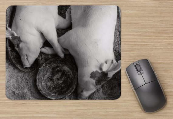 Pigs Mouse Pad - Pig Mousepads - Computer Mat - Office Accessories - Office Decor - Desk Accessories - Office Gifts