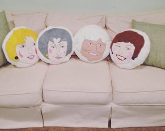 Golden girls throw pillows