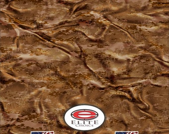 "Digital Desert Cloth 15""x52"" or 24""x52"" Truck/Pattern Print Tree Real Camouflage Sticker Roll or Sheet"