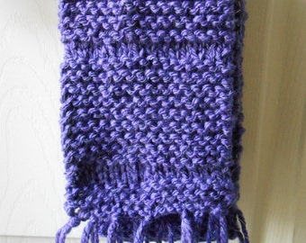 Purple light reflecting scarf 60 inches