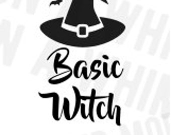 Basic Witch svg DIGITAL IMAGE svg Halloween SVG file