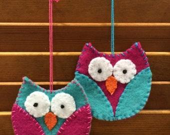 Stuffing Add On for Felt Owl Ornament/Decoration