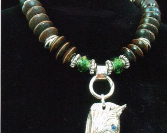 07/F     Zebra Necklace