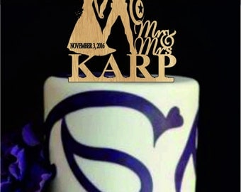 Captain America wedding cake topper, Bride and Groom Wedding Cake Topper, Custom Wedding Cake Topper, Unique Wedding Cake Topper