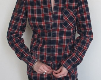 80s Vintage Flannel shirt