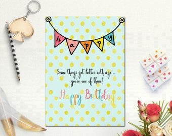 Superb Happy Birthday Cards, Birthday Card, Birthday Card Best Friend, Printable  Birthday Card, Regarding Printable Best Friend Birthday Cards