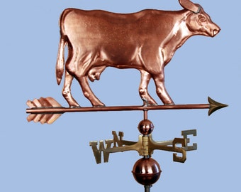 Copper Cow Weathervane BH-WS-168