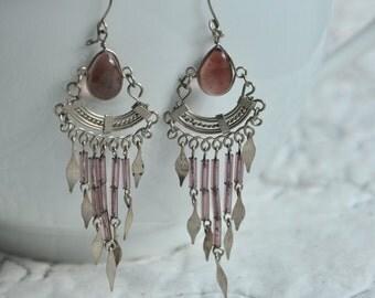 vintage ethnic dangle earrings