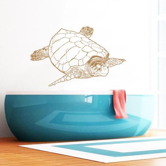 turtle wall decal tortoise vinyl sticker decals tortoiseshell