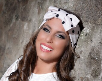 Wide Headband, Womens Headband, Adult Headband, Hair Bows for Women, Bow Headband Adult,Fashion Headbands,Hair Accessory,Bow Headband Womens
