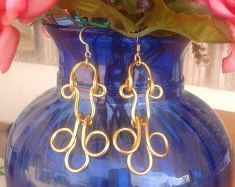 aluminum earrings