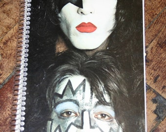 KISS Vinyl Record Cover Notebook