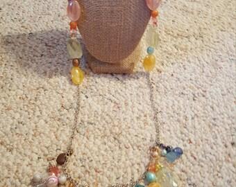 Beautiful beaded necklace, boho inspired