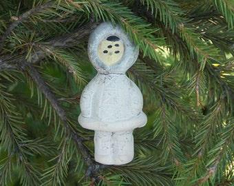 American eskimo doll vintage doll Christmas story Eskimo girl home decor vintage canada doll Christmas doll collectible doll Alaska woman