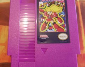 Roll-Chan 6 Nintendo (NES) w/ Dust Cover *NEW* *Mega Man Hack*