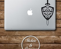 Legend of Zelda - Sticker Macbook and Laptop