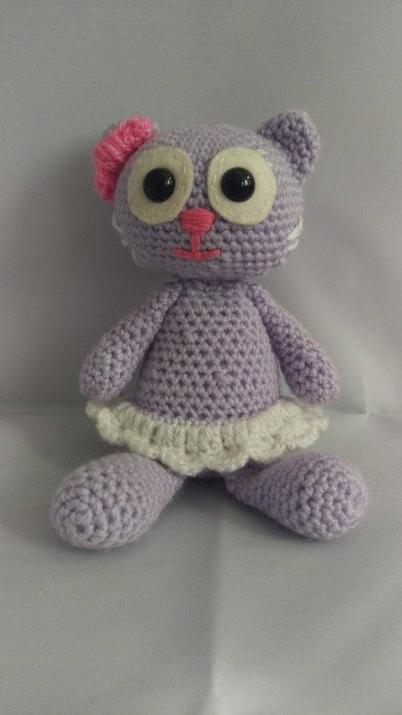 Big Cat Amigurumi : Amigurumi Cat by ClarasCrochetGifts on Etsy