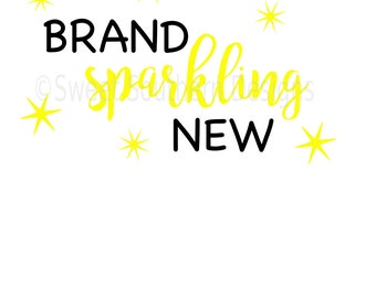 Brand sparkling new SVG instant download design for cricut or silhouette
