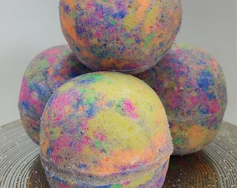 Unicorn Poop Bath Bomb