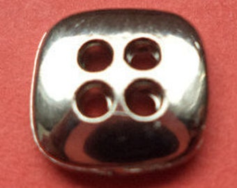 13 small buttons silver 11mm (3741)