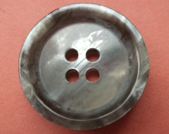 10 grey buttons 20mm (699) button