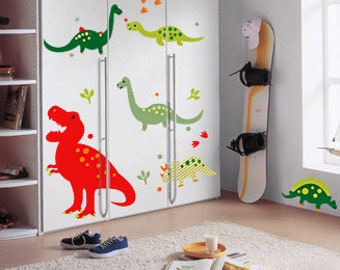 Dinosaur Wall Decor dinosaur wall decal | etsy