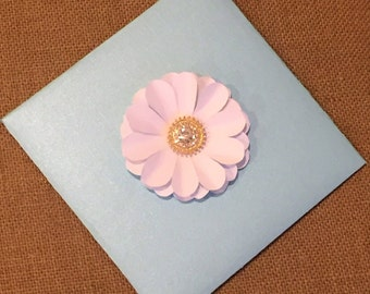 Custom Single Flower Card