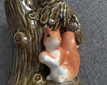 SYLVAC Small Woodland Squirrel Posy Jar