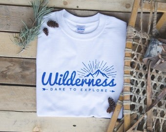 White Wilderness Explore T-Shirt