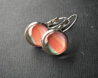 Sherbet Stripe Earrings
