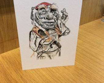 Hoggle card