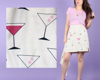 80s Dirty Martini Mini Skirt