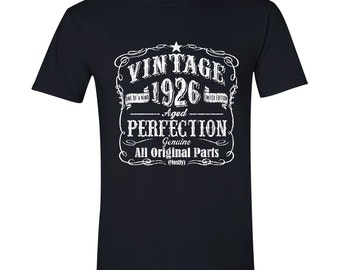 91st Birthday, 91st Birthday Gift, 91st Birthday Present. 91st Birthday Idea for 1926 Birthday, 91st, Birthday Shirt, 91 Yrs BLACK 1926