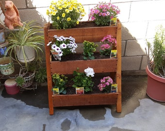 Multi- Leveled Garden Planter Box