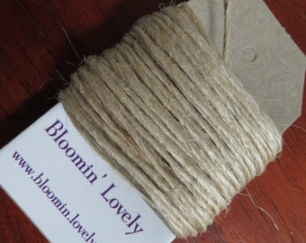 5m natural twine/gift wrapping string