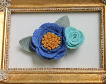 CELINA Felt flower headband || Flower headband || Nylon headband || Baby headband || One size fits all (baby - adult) || bowemmgee