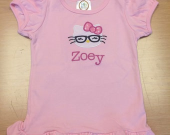 "Personalized ""Hello Kitty"" Shirt"