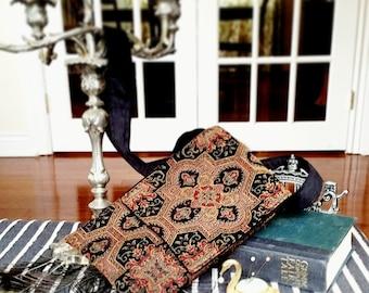 Medium-Sized Tapestry Crossbody Bag *Made to Order*