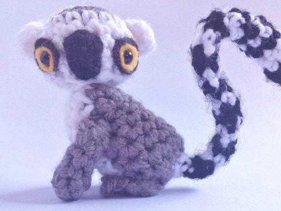 Amigurumi Nurse Free Pattern : Amigurumi Ring-Tailed Lemur Pattern from AmiginationStudio ...
