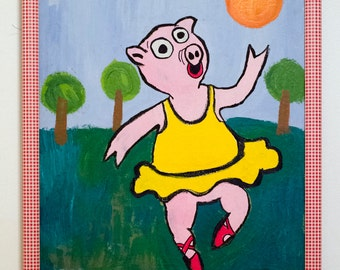 Dancing Pig, by SC Hunt