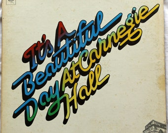 It's A Beautiful Day,  At Carnegie Hall - 1972 - KC 31338 - Vinyl