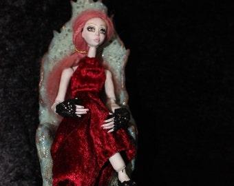 ooak porcelain BJD Mandragora Art doll