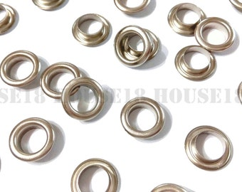 8mm Metal Eyelet Grommet With OR Without Washer 1000 Sets OR 1000 PCS | Silver