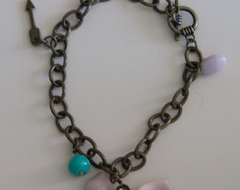 Bow and Arrow Charm Bracelet