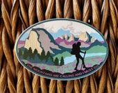 JMT Hiking Decal (small)