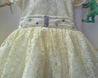 Party Dress.( 6 - 9 months).