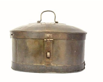 Vintage Large Metal Container